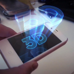 iPhone hologram