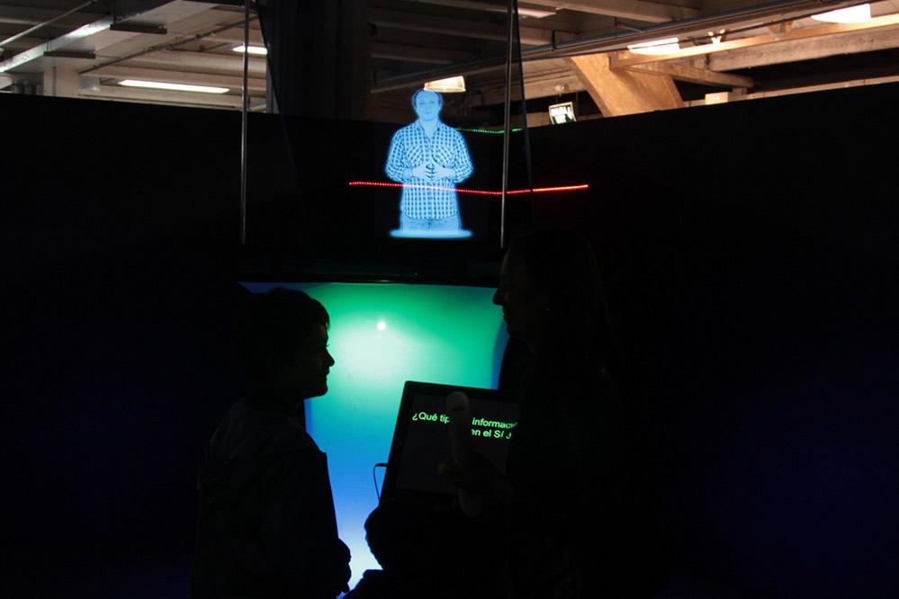Holograma XpoJovenes 2015